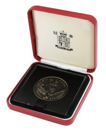 2004 £5 Proof cordiale entente in Box